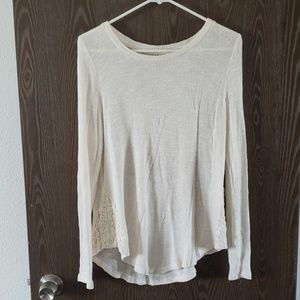 White cute sweater